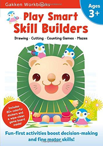 Play Smart Skill Builders 3+: For Ages 3+ (Gakken Workbooks)