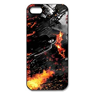 Movie Series Mobile Hard Back Case Cover For iPhone 5,5S-Batman Trilogy People Mouse/Black Shell by supermalls