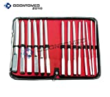 OdontoMed2011® SET OF 14 HEGAR UTERINE DILATOR SET