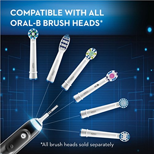 Oral-B Genius Pro 8000 Electronic Power Rechargeable Battery Electric Toothbrush with Bluetooth Connectivity Powered by Braun by Oral B (Image #10)