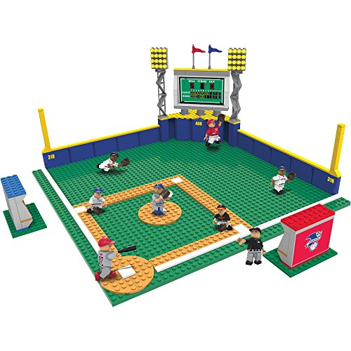 OYO Sports MLB Full Field Building Block Set — 307 Pieces from Oyo Sportstoys