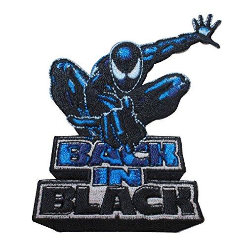 Marvel Comics Venom Suit Spider Man Back In Black Avengers Iron On Applique Patch