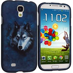 Hu Xiao Accessory Planet Wolf Hard Snap-On Design Rubberized case cover bW48i18pJxi Cover Accessory for Samsung Galaxy S4