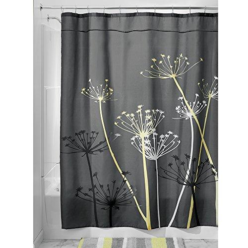 InterDesign Thistle Fabric Curtain 78 Inch