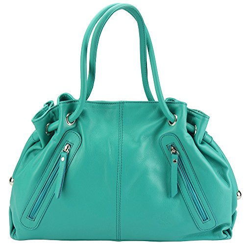 donna Market Florence spalla Turchese Borsa a Florence Leather Leather qBtW10UB