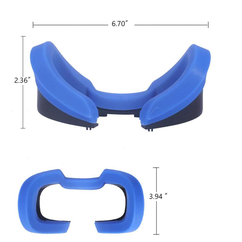 VR Cover Almohadilla Facial para Oculus Rift M/áscara De Silicona Gafas para Oculus Rift S Auriculares De Realidad Virtual