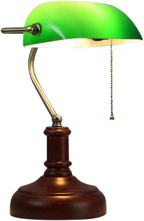 WPCBAA Lámpara de Mesa de Noche Dormitorio Sala de Estudio de ...