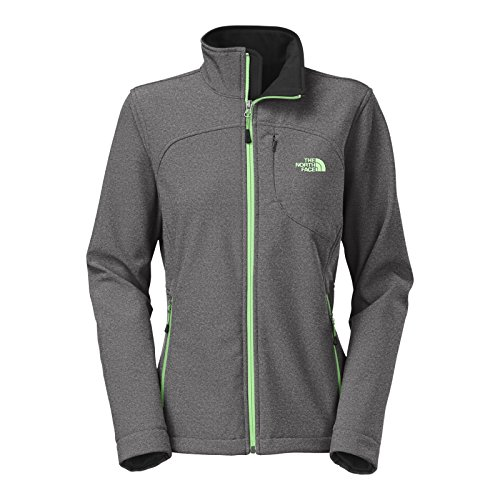 (The North Face Women's Apex Bionic Jacket, TNF Black Heather LG)