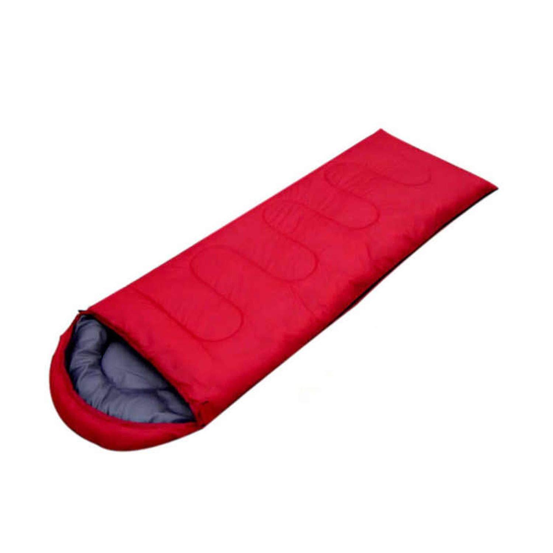 Red 1.3kg Outdoor Portable (180+30)75cm Three Seasons Camping Waterproof Sleeping Bag Cotton Envelope Style,0.75kg,Navy
