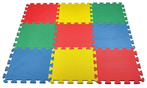 MEDca Interlocking 11 5x11 5 Inches Assorted product image