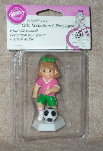 L'il Miss Soccer ~ Cake Decoration & Party Favor ()