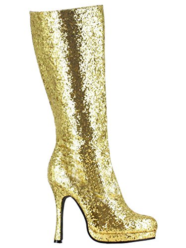 Ellie Shoes Women's 421-Zara Boot, Gold, 8 M US
