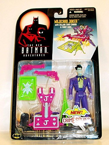 Batman The New Adventures: Wildcard Joker with Calling Card Cannon & Funny Guns