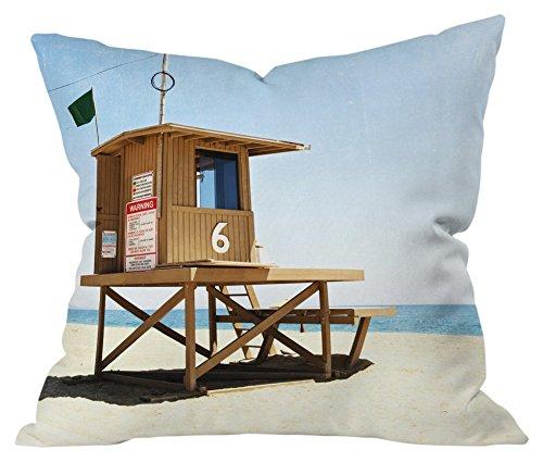 Deny Designs 59704-othrp16 Bree Madden Newport Beach Indoor Throw Pillow, 16 x 16 (Beach Patio Newport Furniture)