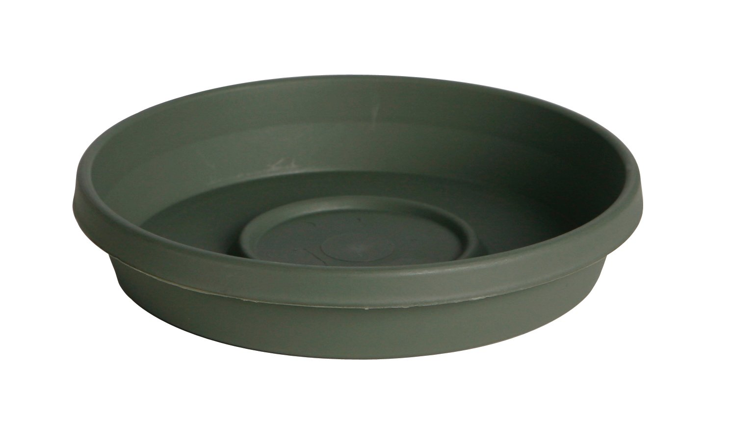 "Bloem Terra Plant Saucer Tray 13"" Living Green"
