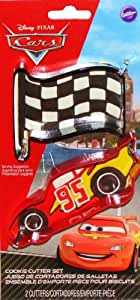 Disney Cars Lightning McQueen & Flag Cookie Cutters by Wilton