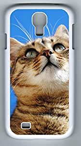 Interested Look Hard Cover Back Case For Samsung Galaxy S4,PC White Case for Samsung Galaxy S4 i9500