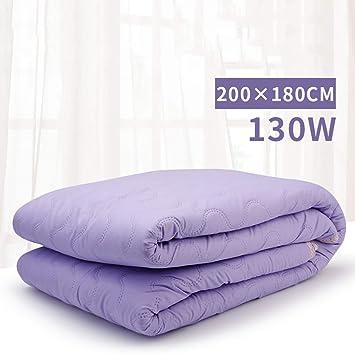 SYXL Plomería Manta eléctrica Doble 220 V Manta eléctrica con calefacción Estera de Control único Dormitorio de calefacción (Tamaño : 200X180): Amazon.es: ...