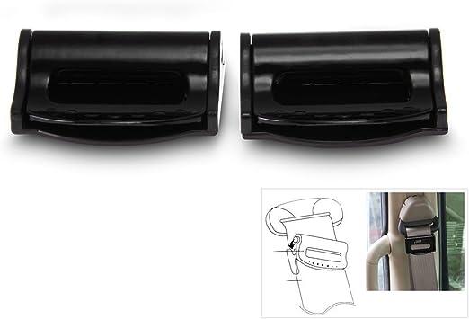 Fermo per Auto 10 Pezzi di Sicurezza per Cintura di Sicurezza per Seggiolino Auto Spaziatura con Fibbia Limi-t Pulsante di Fermo per Clip