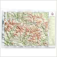 Mapa en relieve de Vall DAran: Escala 1:300.000: Amazon.es: All ...