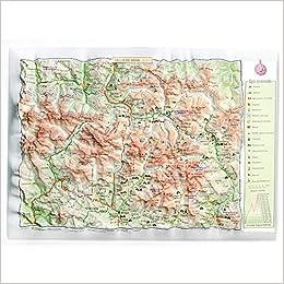 Mapa en relieve de Vall DAran: Escala 1:300.000: Amazon.es: All 3D Form, S.L.: Libros