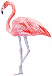 Watercolor Painted Pink Flamingo - Full Color Vinyl Decal Sticker for Instant Pot Instapot Pressure Cooker