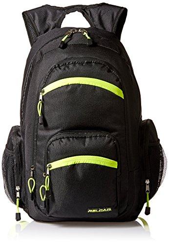 Trailmaker Boys' Tripe Pocket Backpack, Black
