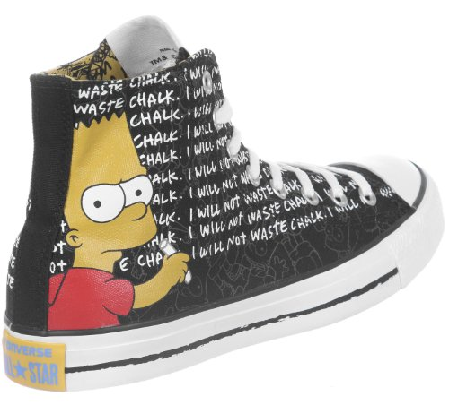 141390C Converse Chucks Hola Can Negro AS Simpson multi Negro negro - negro y multicolor