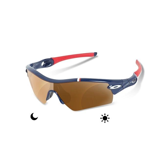 sunglasses restorer Lentes Fotocromatica Marron 30-45%de Recambio para Oakley Radar Path: Amazon.es: Ropa y accesorios