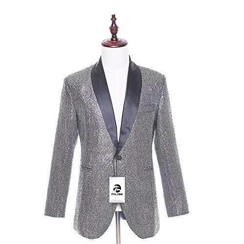 78f84bd3a150 hot sale FOLOBE Men s Peaked lapel Slim fit Tailcoat Swallow-tailed Coat  Formal Tuxedos Blazer
