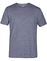 Men's Short Sleeve Staple Tri-Blend Crew Neck and Vneck Tee Shirt