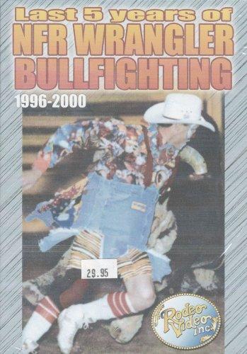 Last 5 Years of NFR Wrangler Bullfighting Dvds - 1996 Thru 2000