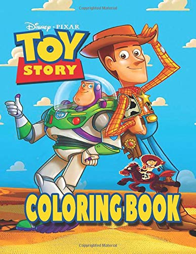 Toy Story Coloring Book Ultimate Color Wonder Ideal For Kids And Adults To Inspire Creativity And Relaxation With 50 Coloring Pages Of Woody Buzz Lightyear Bo Peep Rex Animated Toystory