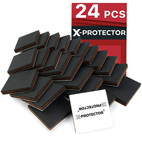 (X-PROTECTOR Furniture Grippers - Premium 24 pcs 2