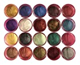 Oh! Sweet Art LUSTER DUST MULTICOLOR Set (20 COLORS) 4 grams each Container By Corp