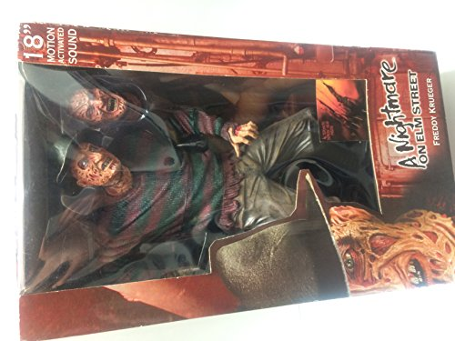 """NECA/Reel Toys - A Nightmare of Elm Street - Freddy Krueger 18"""" Action Figure w/Motion Activated Sound"""