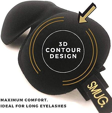 Animal Print SMUG Active Eyelash Friendly Contoured Sports Therapy 3D Blackout Sleep Mask//Eye Mask