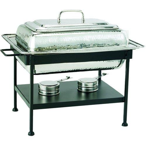 SKB family Rectangular Stainless Steel Chafing Dish - Nickel, 19