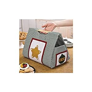 Christmas Casserole Carrier Party Decorations Room Decor