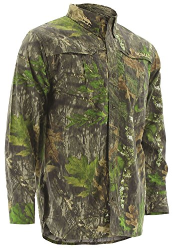 Nomad NWTF Woven Shirt Long Sleeve, Mossy Oak Obsession, 3XL