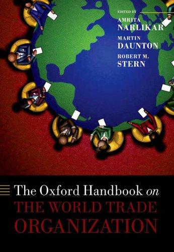 Download The Oxford Handbook on The World Trade Organization (Oxford Handbooks in Politics & International Relations) Pdf