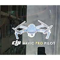 waterproof car Window mavic Decal Sticker for mavic DJI Drone Pilot parts