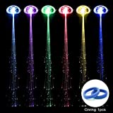 RioRand 6-pack Light-up Fiber Optic Led Hair Lights (14