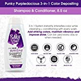 Punky Purpledacious 3-in-1 Color Depositing Shampoo