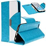 6 Case, iPhone 6 Wallet Case, SGM (TM) Premium PU Leather Wallet Case [Stand Feature] For iPhone 6 4.7