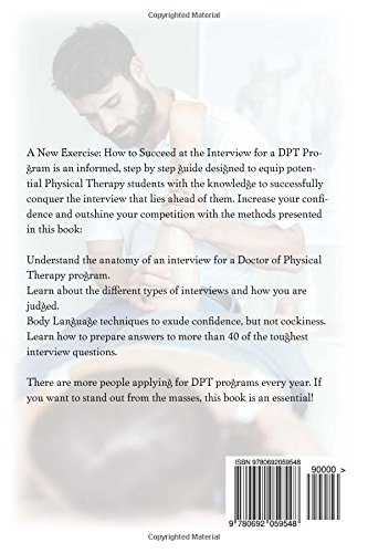 A New Exercise How To Succeed At The Interview For A Dpt Program