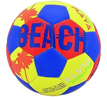 Creaciones Llopis Balón de Futbol Playa: Amazon.es: Juguetes y juegos