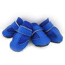 Pet Teddy Bears Anti-Slip Soft Bottom Breathable Mesh Casual Shoes Small Dog Light Soft Warm Velvet