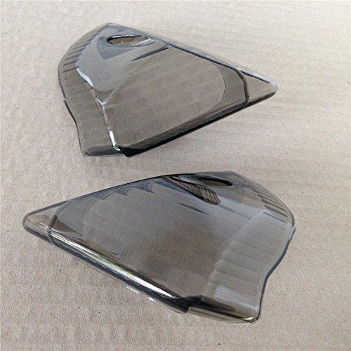 (XKMT-Smoke Signal Tail Light Cover Compatible With Suzuki Gsx-R Gsxr600 750 2006 2007 [B00YYL3T3Q])