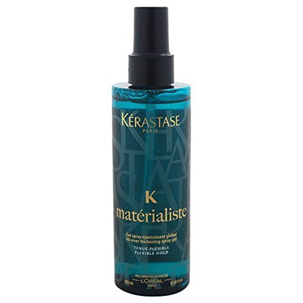 Materialiste All Over Thickening Spray Gel Kerastase Gel Unisex 6.59 oz (Pack of 3)